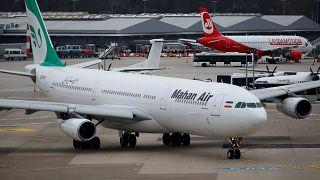 دولت آلمان مجوز پرواز هواپیمایی ماهان را لغو کرد