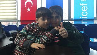 İç savaş mağduru Suriyeli çocuklar 'Mutluluk Merkezi'nde buluşuyor