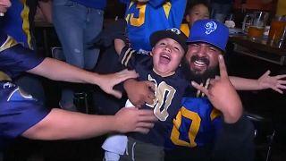 Los Patriots contra los Rams en la Super Bowl LIII