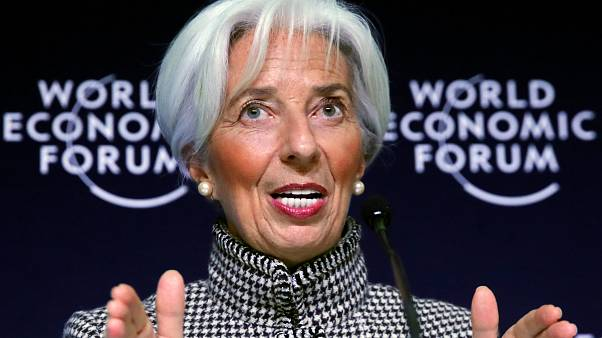 Christine Lagarde,IMF raporunu Davos Dünya Ekonomik Forumu öncesi yorumladı