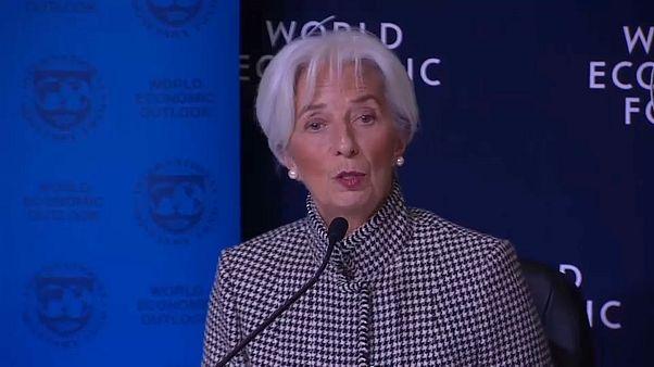 IWF in Davos: Keine Rezession, aber weltweit weniger Wachstum