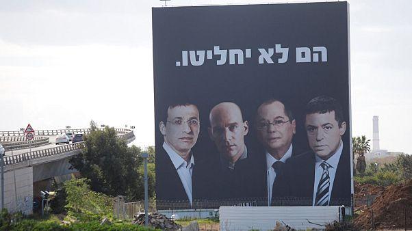 İsrail'de yolsuzluk haberleri yapan gazetecilerle seçim propagandası