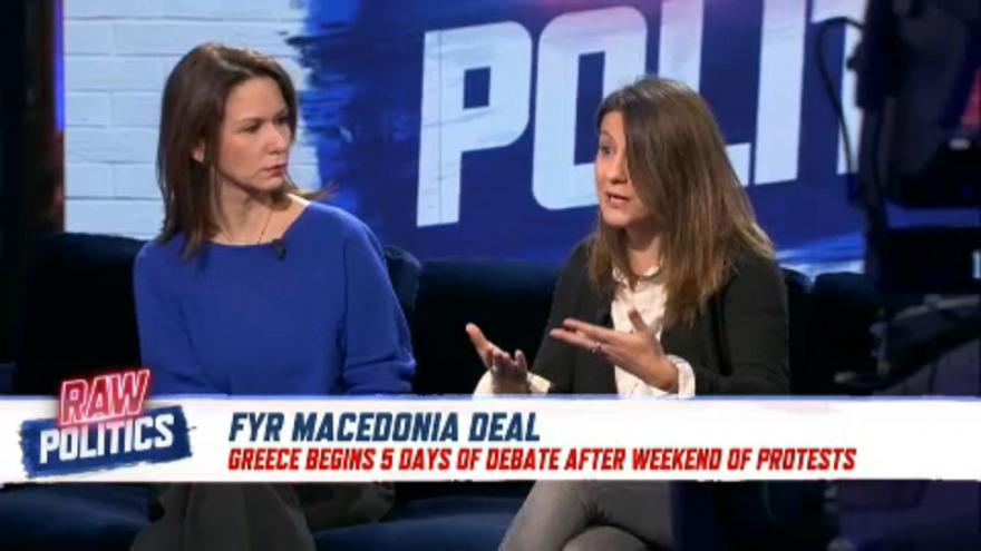 Raw Politics: FYROM debate heats up with protests in Athens