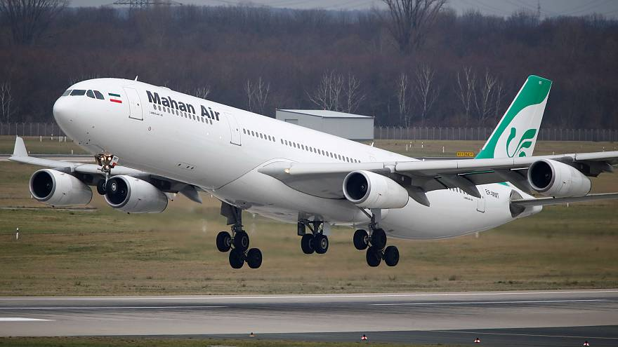 Germany bans Iranian airline, Mahan Air, from its airports