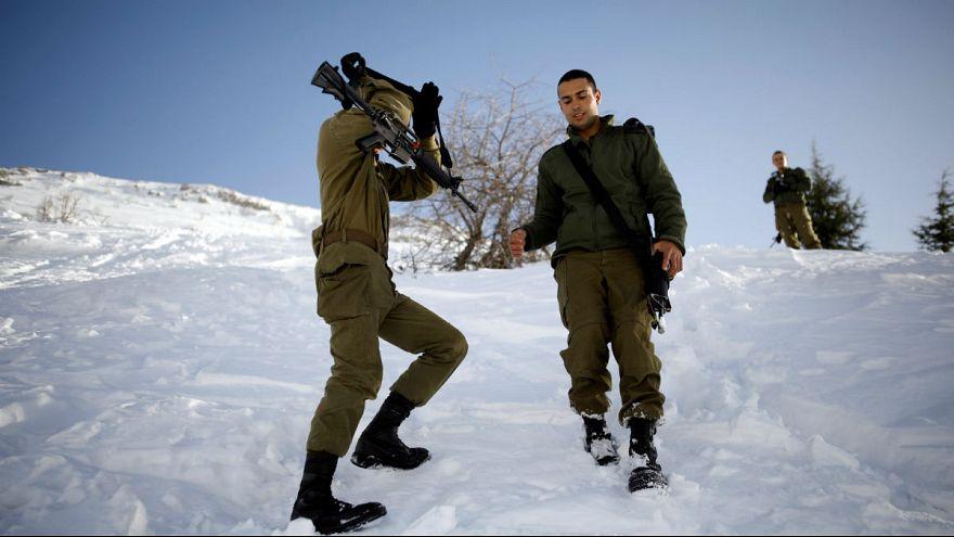 برخورد موشک «ایرانی» با گنبد آهنین اسرائیل بر فراز پیست اسکی در جولان