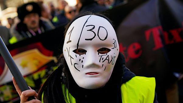 Ισπανία: Απεργία οδηγών ταξί