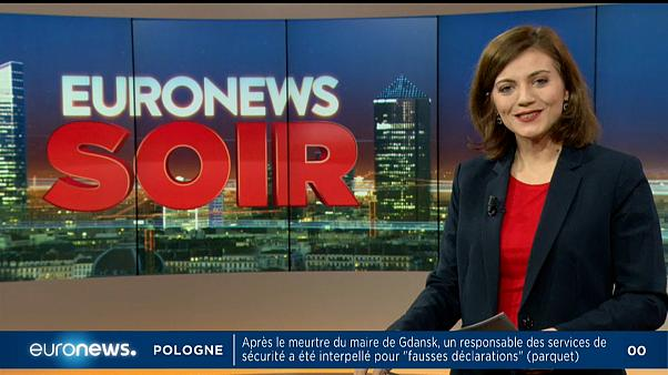 Euronews Soir : l'actualité du lundi 21 janvier