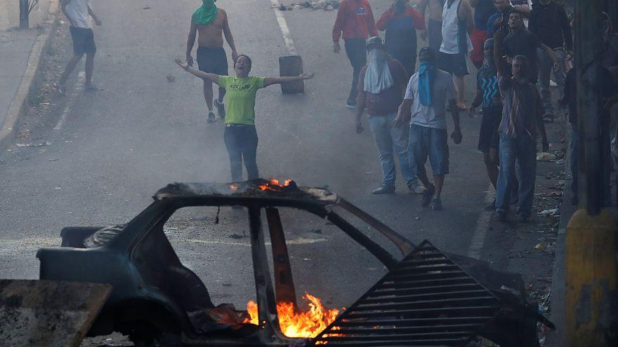 Βενεζουέλα: Συγκρούσεις διαδηλωτών και αστυνομικών