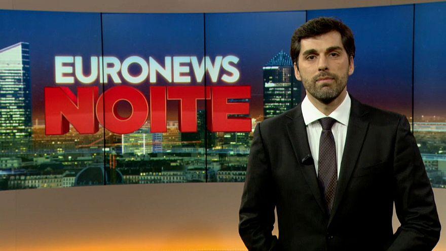 Euronews Noite apresentado por Ricardo Borges de Carvalho