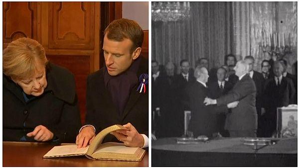 56 Jahre deutsch-französische Freundschaftsverträge