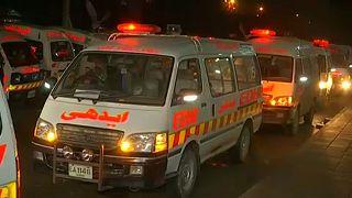 Súlyos baleset Pakisztánban