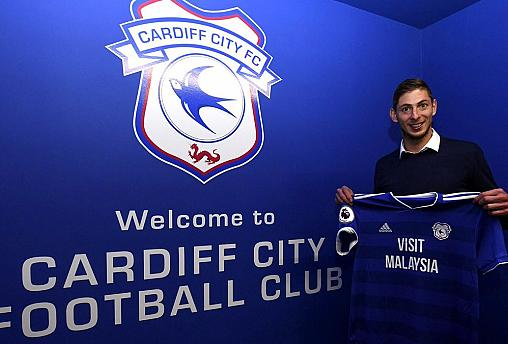 Emiliano Sala was aboard missing plane, French CAA confirms