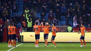 Spor Toto Süper Lig'in 18. haftasında Trabzonspor Başakşehir karşılaşması