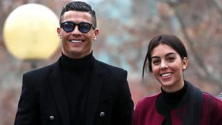 Reuters - Ronaldo arrives at court with his partner Georgina Rodriguez