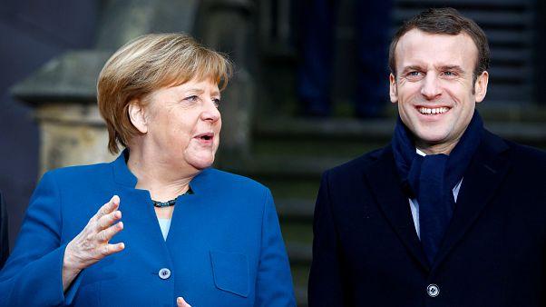 رهبران فرانسه و آلمان معاهده همکاری جدید امضا کردند