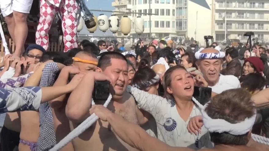 Japanese 20-year-old celebrate 'coming of age' festival
