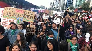 A nemi erőszak ellen tüntettek Ecuadorban