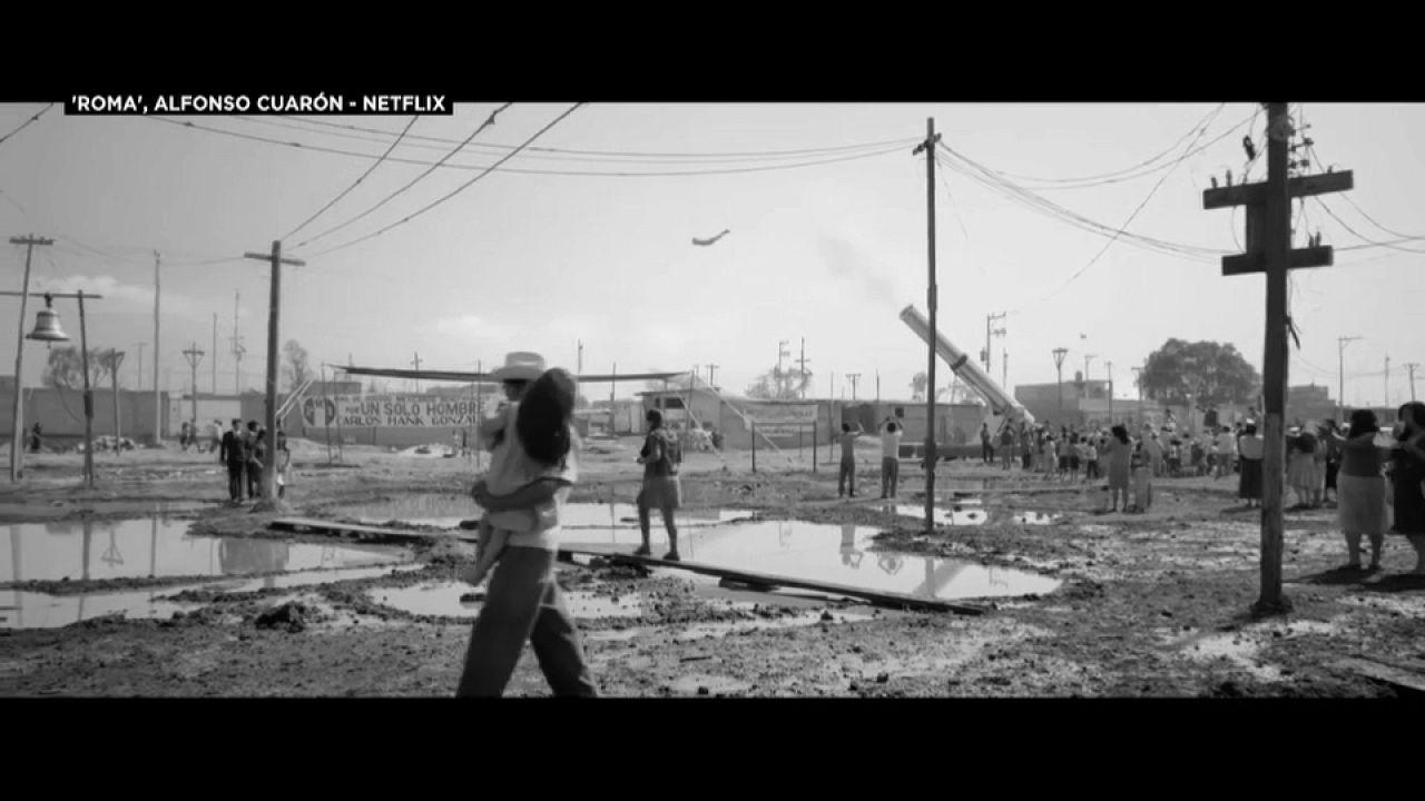 Roma, por primera vez, un largometraje en español aspira al Oscar como mejor película