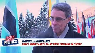 Raw Politics: HRW Director Kenneth Roth uses Davos as platform for human rights advocacy