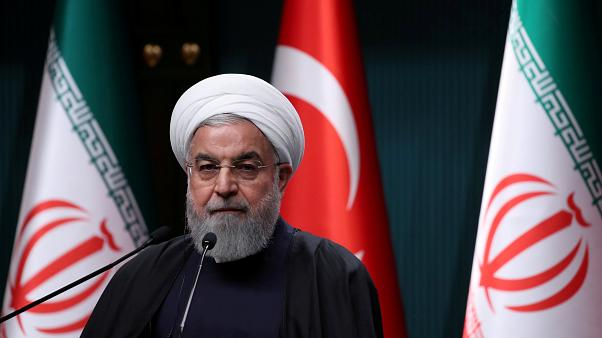 File photo of Hasan Rouhani