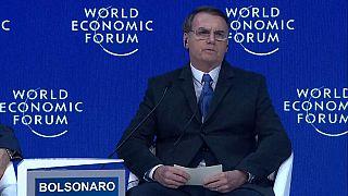 """Bolsonaro a Davos: """"Mai più sinistra in America Latina"""""""