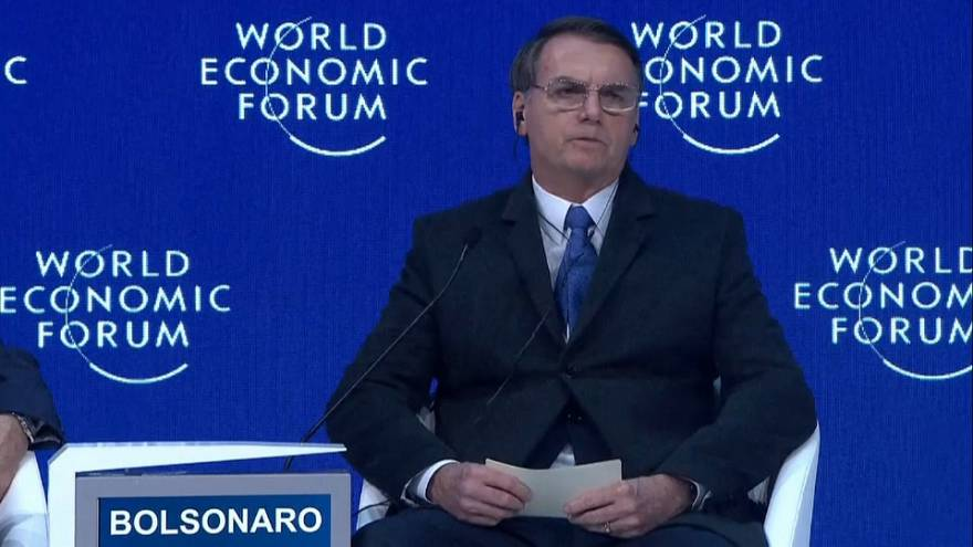 Umwelt, Wirtschaft und weniger Korruption: Bolsonaro erklärt sich in Davos