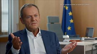 Raw Moment: Tusk claims former UK PM Cameron is 'victim of his own victory'