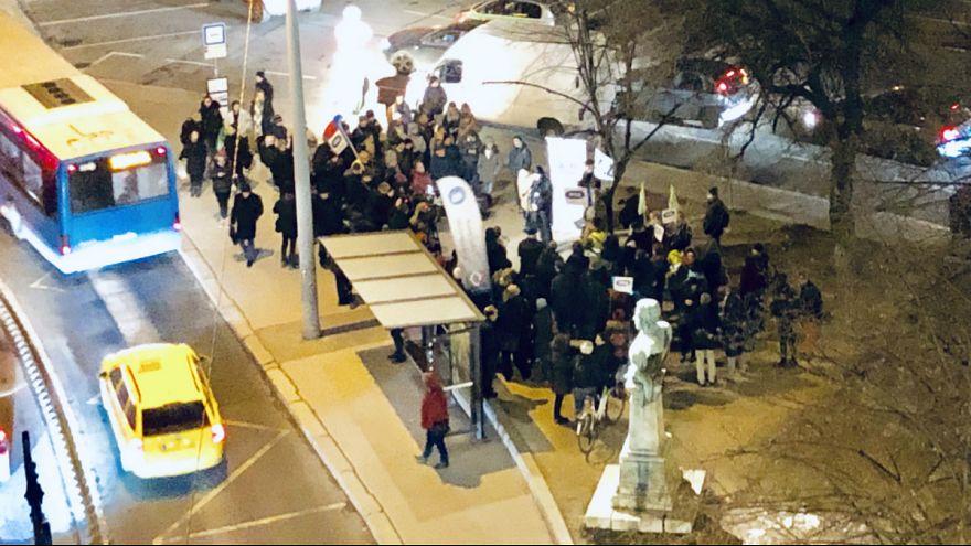 Tüntetés a magyar kultúra napján