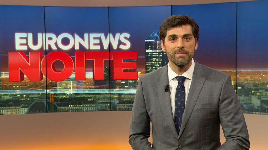 Ricardo Borges de Carvalho apresenta o Euronews Noite