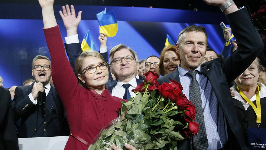 Video: Ukrayna eski başbakanı Timoşenko Cumhurbaşkanlığı adaylığını duyurdu