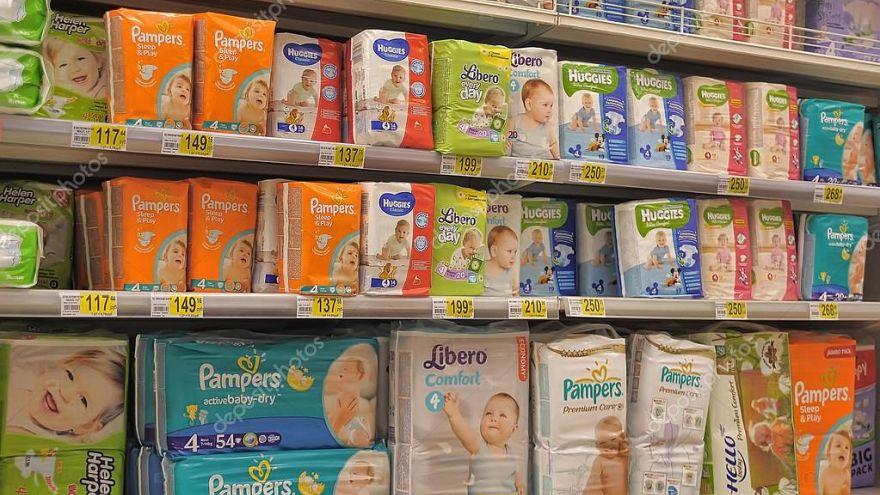 Fransa'da satılan bebek bezlerinin çoğunda toksik maddeler saptandı