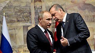 Erdoğan Putin ile Suriye'deki gelişmeleri görüşmek üzere Rusya'da