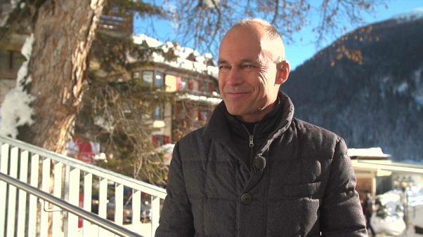 """Bertrand Piccard à Davos : """"protéger l'environnement, c'est rentable"""""""