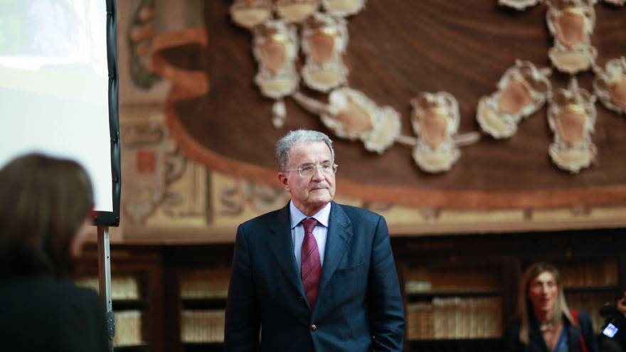 Romano Prodi back in Brussels