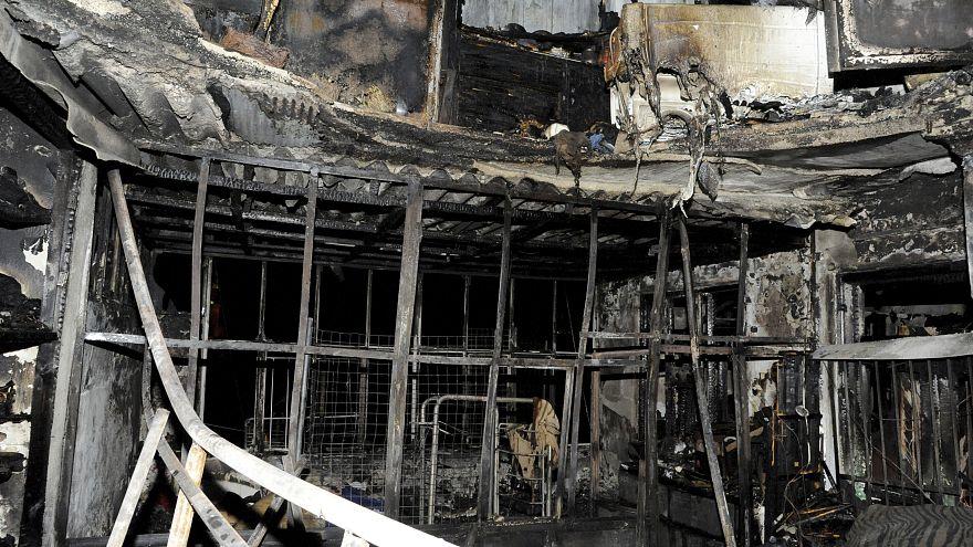 سبعة أطفال من عائلة واحدة يلقون حتفهم في حريق مبنى بدمشق