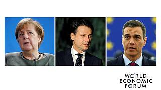 Davos 2019, gli interventi di Merkel, Conte e Sanchez