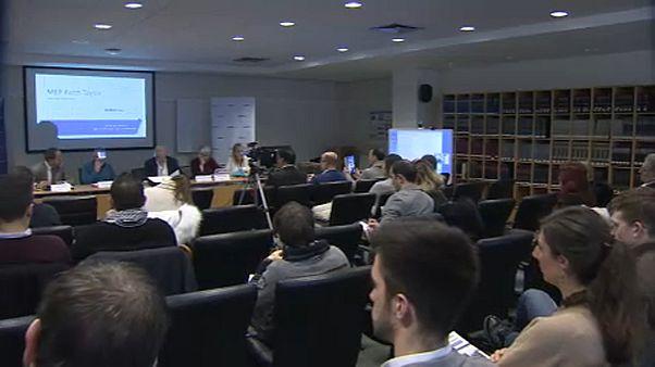 شاهد: ندوة في البرلمان الأوروبي عن قانون يهودية الدولة الإسرائيلي