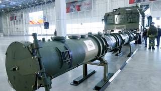 Russia gives first glimpse of missile that US says violates arms control treaty