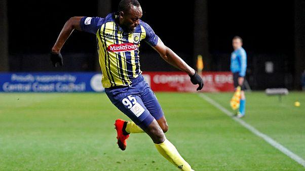 Usain Bolt'un futbolculuk kariyeri başlamadan bitti