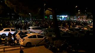 Taxi drivers strike on opening day of Madrid tourism conference
