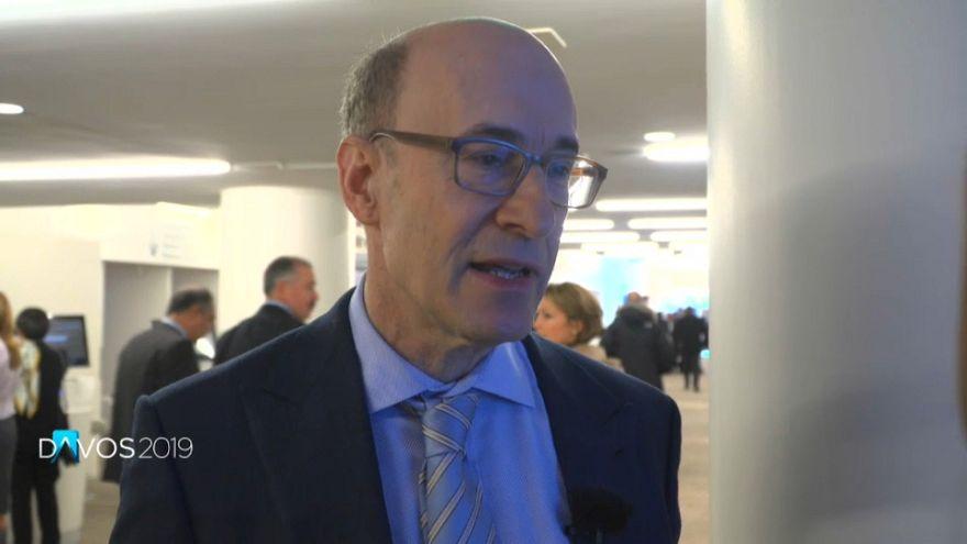 Kenneth Rogoff, au forum économique mondiale de Davos 2019