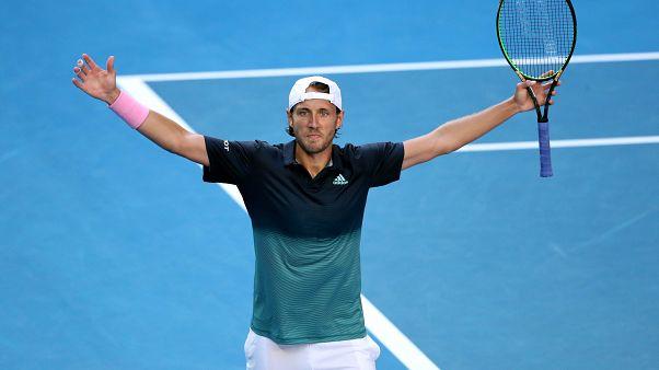 Open d'Australie : Lucas Pouille affrontera Novak Djokovic en demi-finale