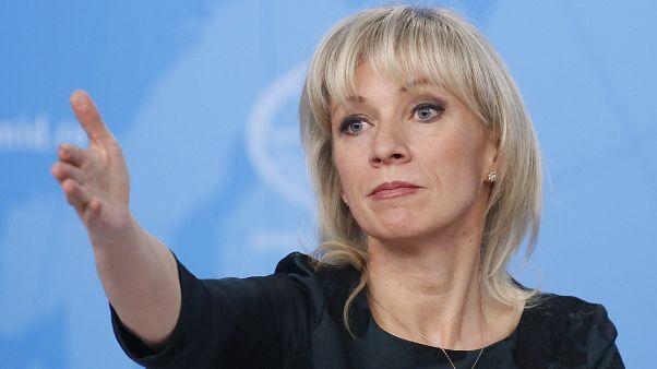 Rusya Dışişleri Bakanlığı sözcüsü Maria Zakharova