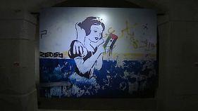 Banksy-Ausstellung in Portugal