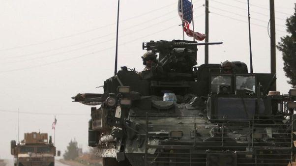 Menbiç'teki Amerikan askerleri