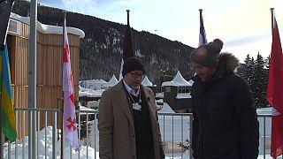 Jimmy Wales and Darren McCaffrey