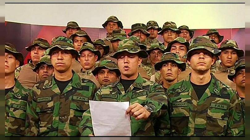 Venezuelan Military Stands by Maduro