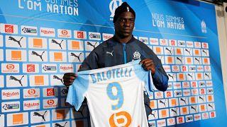 Mario Balotelli enfin à l'Olympique de Marseille