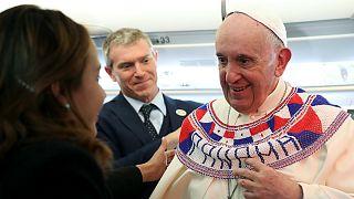 پاپ فرانسیس ترس از مهاجران را عامل «جنون» دانست