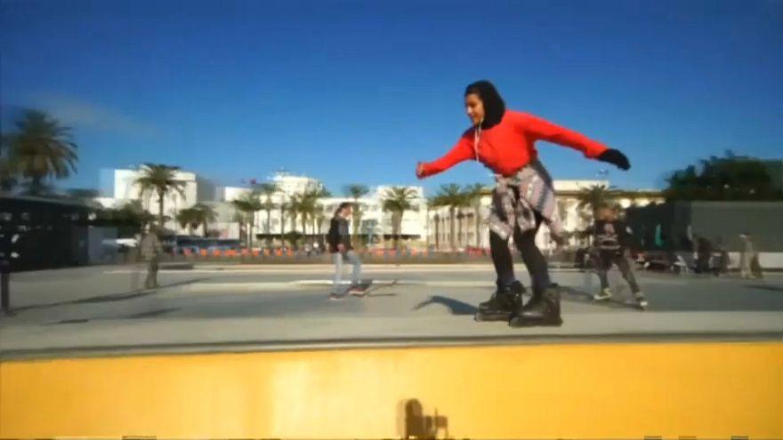 """Douaa Elhadri, dal Marocco la nuova promessa del pattinaggio """"inline"""""""